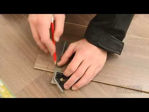 Laminate Flooring Drop Lock Click System Installation Guide Youtube