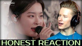 Gambar cover HONEST REACTION to Red Velvet 레드벨벳 - Psycho @ReVe Festival FINALE #getwellsoonwendy