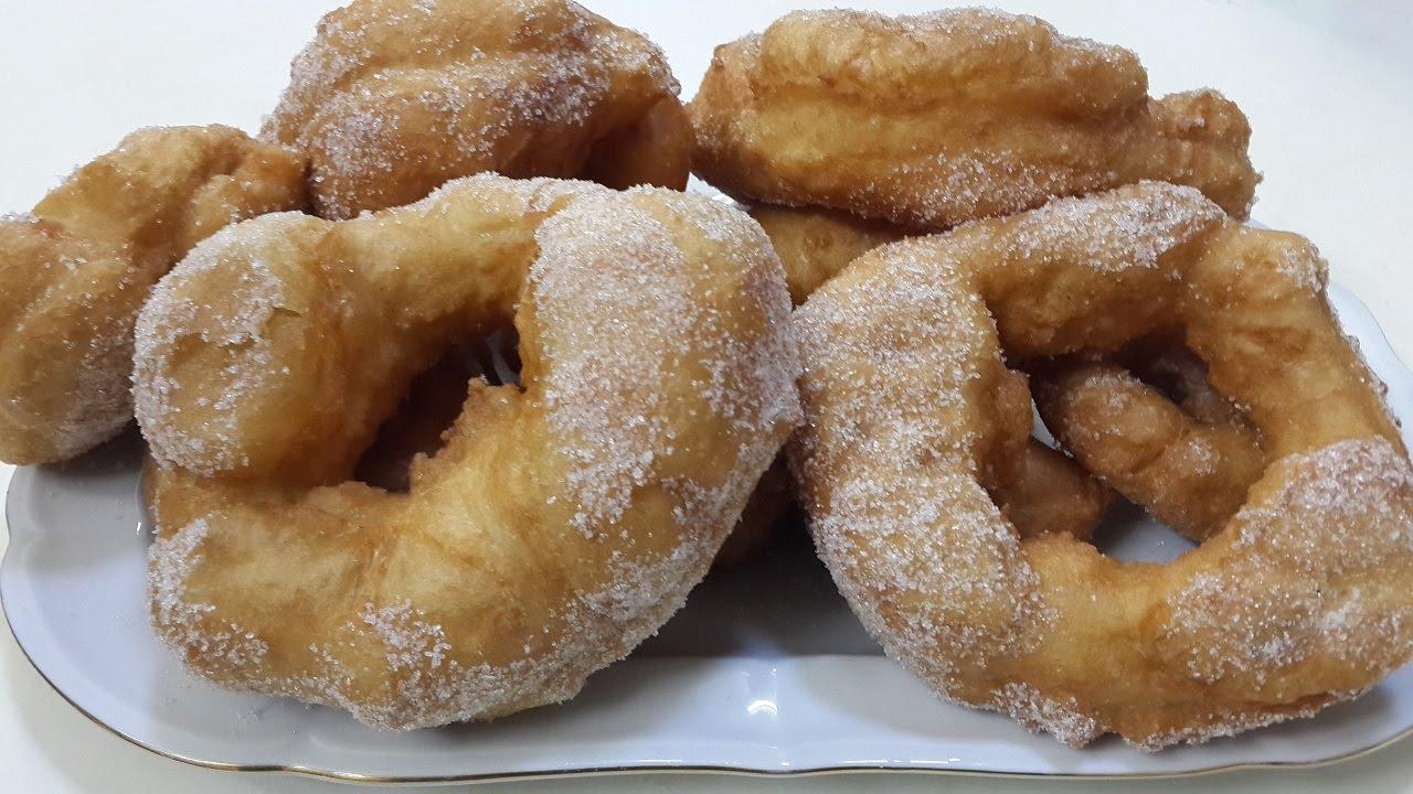 Ftayer bambalouni cuisine tunisienne youtube for Cuisine tunisienne