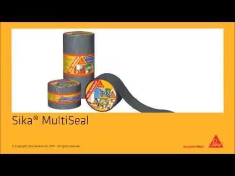 Sika MultiSeal Self Adhesive Sealing Flashing Tape Sealants & Tools Direct