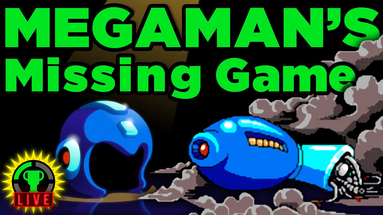 GTLive: The Megaman Game You NEVER Played! - GTLive: The Megaman Game You NEVER Played!