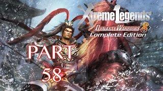 Dynasty Warriors 8: Xtreme Legends Walkthrough PT. 58 - Invasion of Xu Province