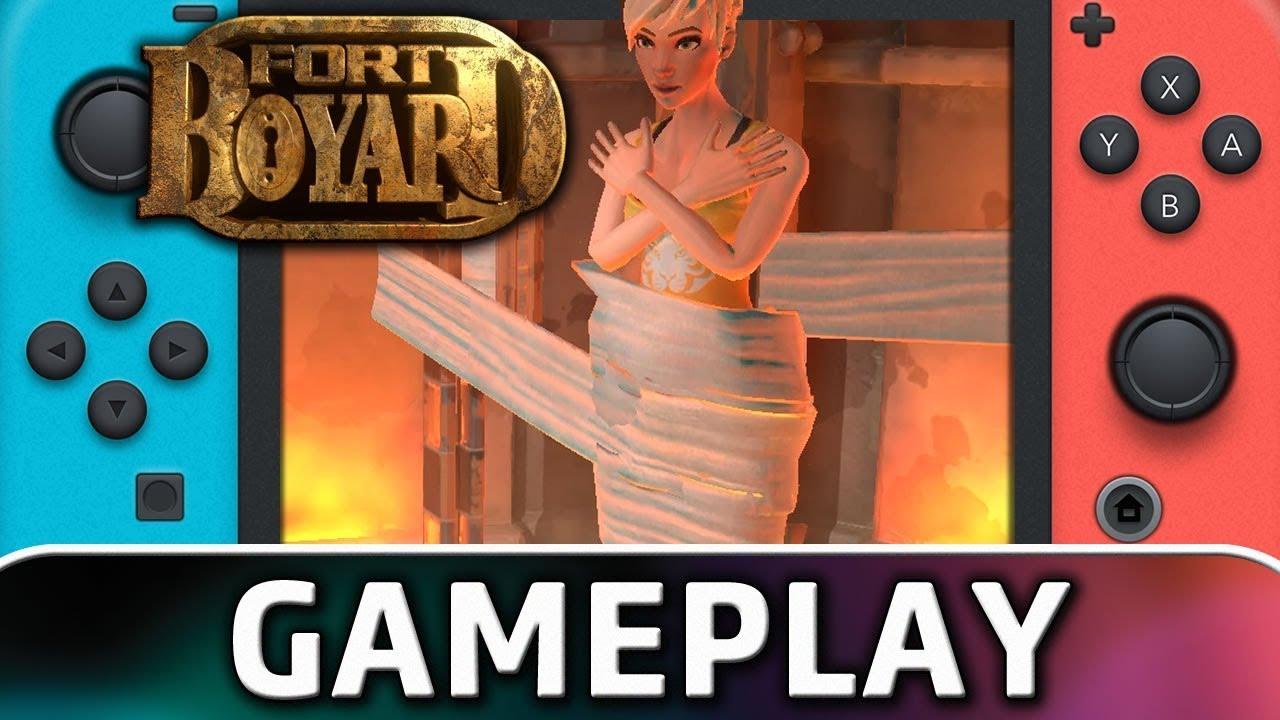 Fort Boyard | First 8 Minutes on Nintendo Switch