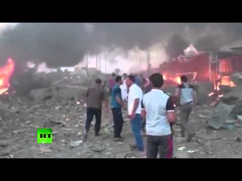 ISIS suicide blast kills 100+ in Iraq: Immediate aftermath footage