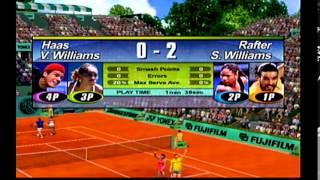Let's 4 Player Sega Tennis 2K2 Dreamcast