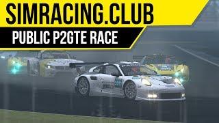 rFactor 2: SimRacing.Club public server fun races in Porsche
