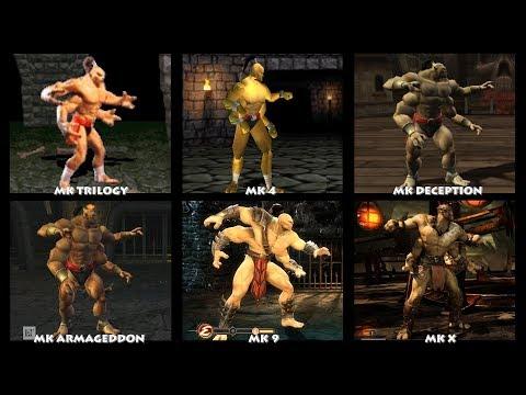 Mortal Kombat GORO Graphic Evolution 1992-2015   ARCADE PSX PS2 XBOX GAMECUBE PC   PC ULTRA