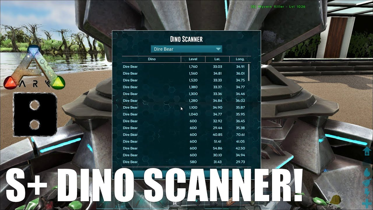 ARK Structures Plus S+ Transmitter Dino Scanner How-to