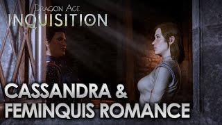 Dragon Age Inquisition - Cassandra & FemInquis Romance [All Scenes]