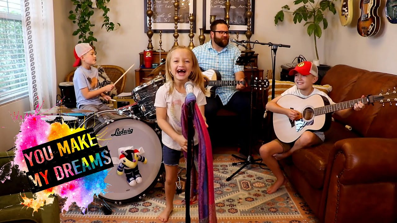 """Colt Clark and the Quarantine Kids play """"You Make My Dreams"""""""