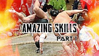 Amazing skills in Sumo