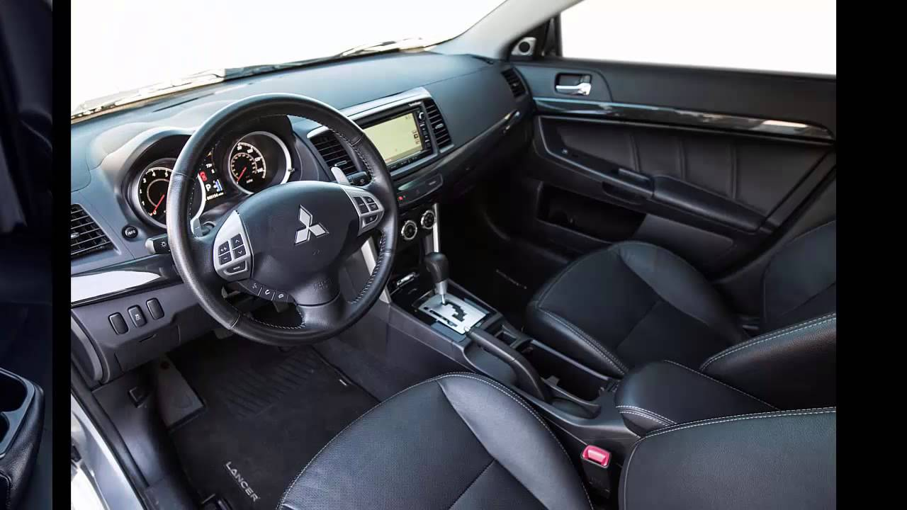 Lancer Gt 2018 >> 2016 Mitsubishi Lancer interior features - YouTube