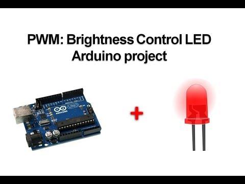 LED Brightness Control with Arduino