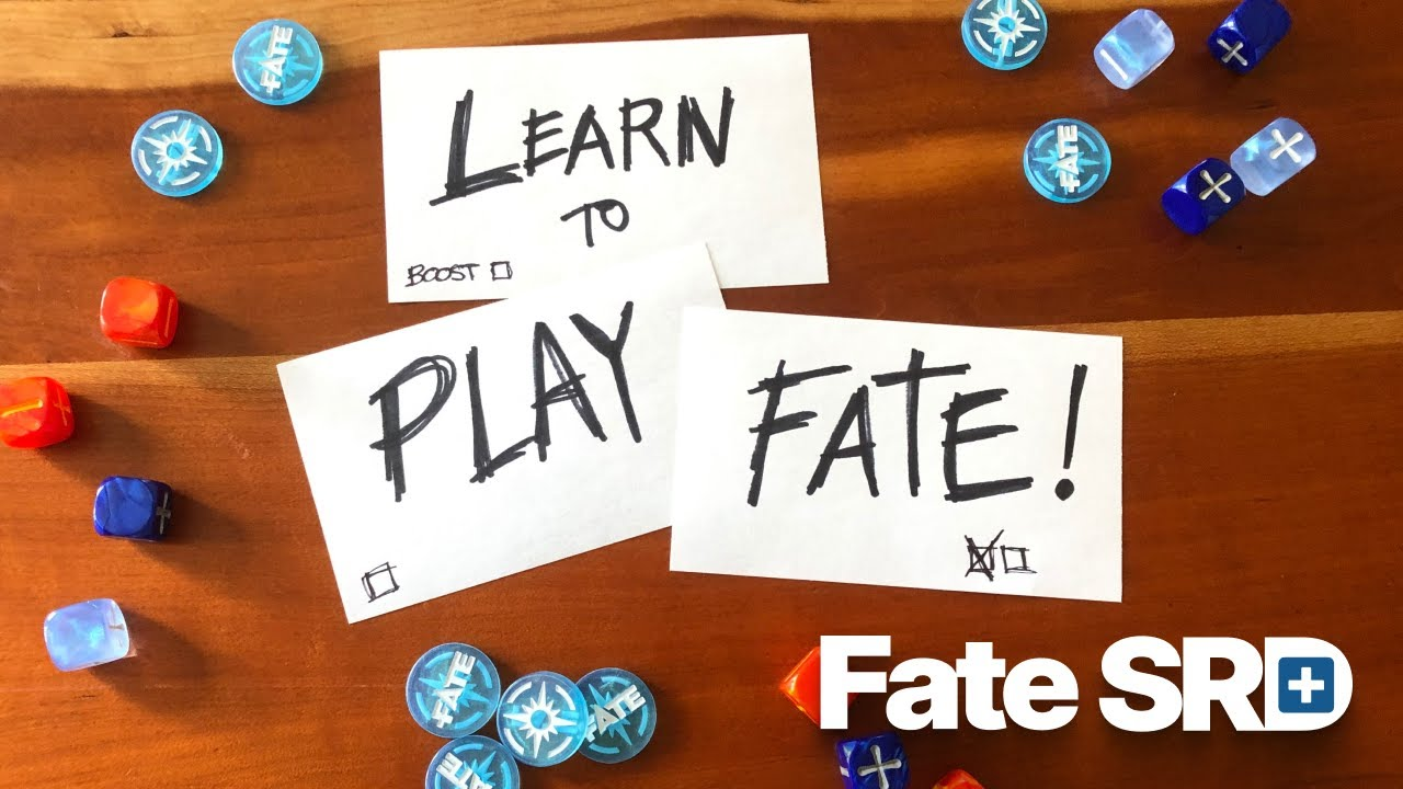 One Shot — Learn to Play the Fate RPG