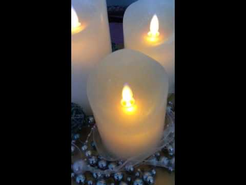 Air Zuker LED Kerzen mit beweglicher Flamme - YouTube