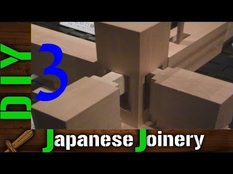 DIY Japanese Joinery – 3 Incredible Complexity of Woodworking Joints – Impossible Challenge?