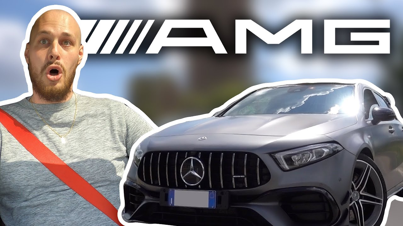 SPAVENTARE TOMMY con MERCEDES A45S AMG!