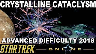 Star Trek Online - Crystalline Cataclysm Event 2018 - With 10 Different Starships