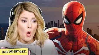 Non-Gamers React to the New Spider-Man Video Game