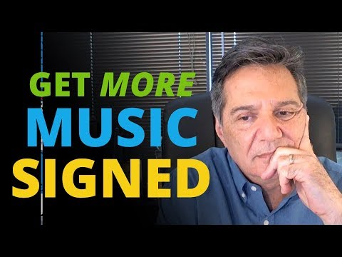 How to Get More Music Signed and Licensed + Shure MV5 Microphone Unboxing