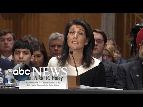 Nikki Haley: 'United Nations Could Benefit From a Fresh Set of Eyes'