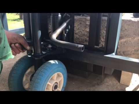 Тележка ручная гидравлическая для бездорожья Rolls Rolls 1500