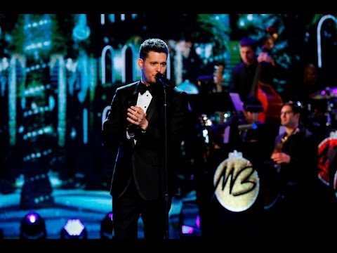 Michael Buble's 'Christmas in Hollywood' - making of