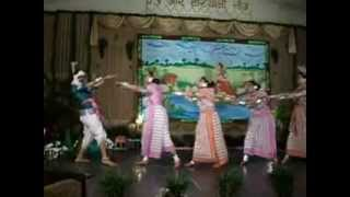 Bangla folk dance, song - chhata dhoro re dewra