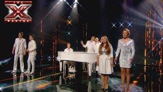 Командная песня -  Х-фактор 5 - Шестой прямой эфир - 13.12.2014