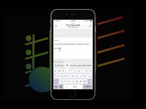 truSongbook - The Songwriting App