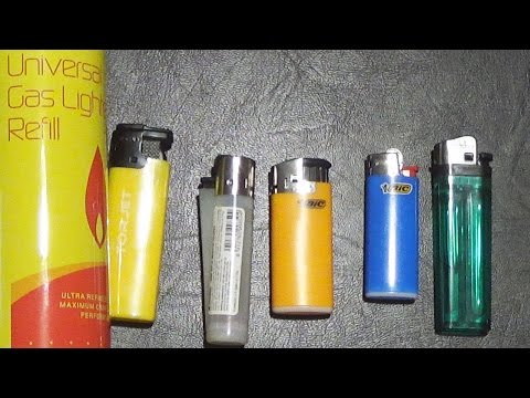 Bic VS Clipper VS other cheap lighters