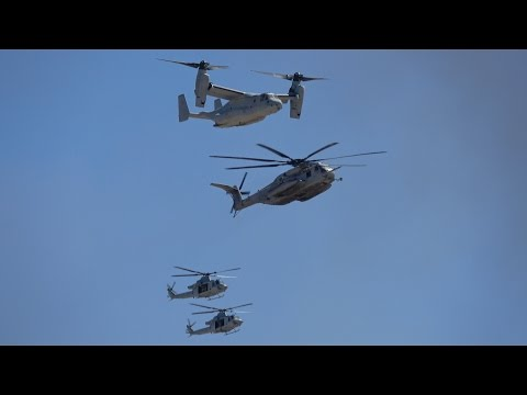 MAGTF Saturday Demo .. Miramar Airshow 2016 (4K)