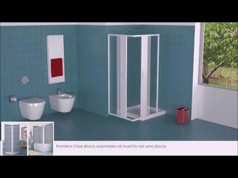 Fai da te per il montaggio del box doccia youtube