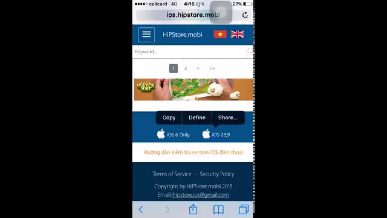 How to Download Hipstore on iOS 9 (No jailbreak)