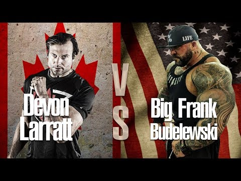 Devon Larratt Vs Big Frank Budelewski - Armwrestling Super Match
