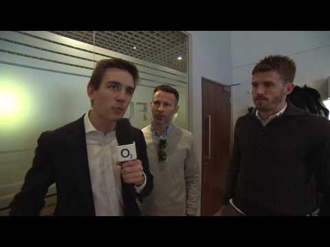 Ryan Giggs and Michael Carrick Talk English / Welsh Rivalry - O2 Inside Line Live England v Wales