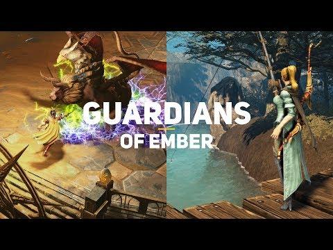 видео: guardians of ember. Первый взгляд