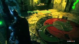 Batman Arkham Knight Reflection Riddle | The Riddler