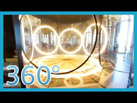 360° VR The Palace of Versailles - Hall of Mirrors - King Ludwig XIV