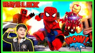 मैं सुपरमैन बन गया !! ROBLOX Gameplay, Superhero Tycoon, Family Gaming Time.