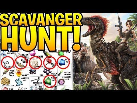 BINGO SCAVENGER HUNT CHALLENGE - ARK SURVIVAL EVOLVED ABERRATION EXPANSION #8