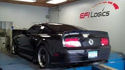 Joe's Twin Turbo 2005 Mustang GT  Tuned at EFI Logics
