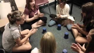 Cups with Skylar, Olivia, Allie, Madison and Braileigh