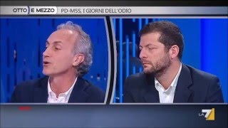 """TRAVAGLIO SCHIACCIA ANDREA ROMANO - """"CASO QUARTO"""""""