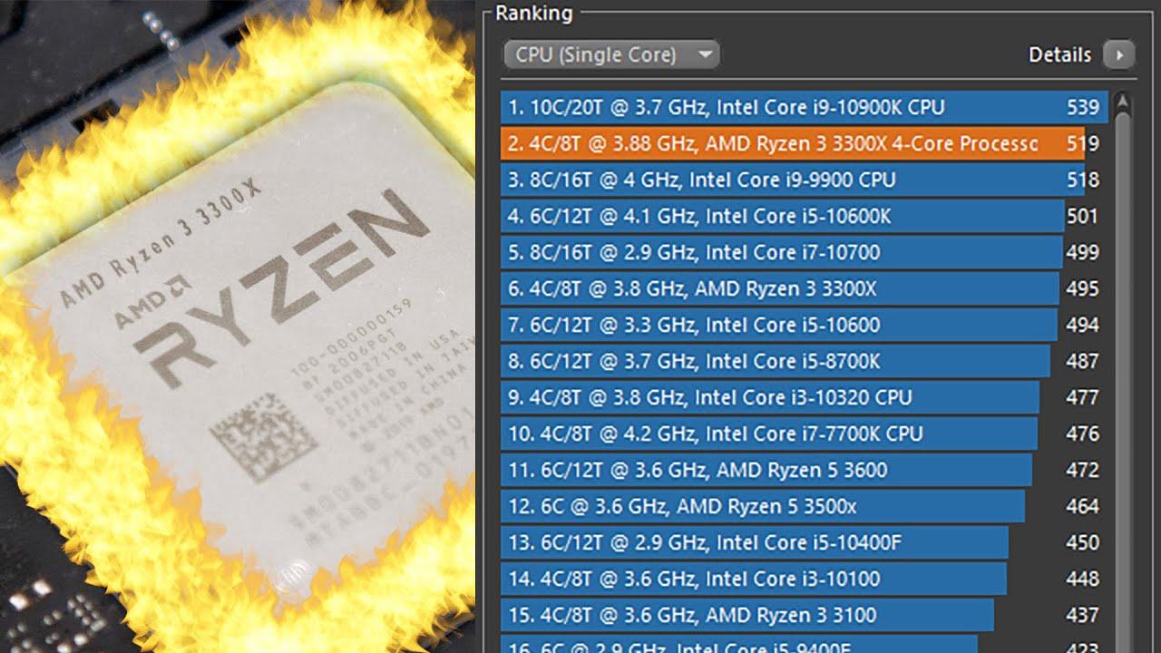 Авторазгон Ryzen 3 3300X. Precision Boost + Overdrive. - YouTube