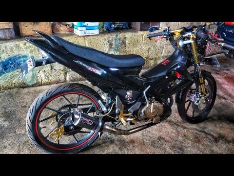 Review Modifikasi Satria FU 150 | Jayapura Papua Motovlog