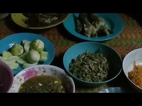 สุดยอดเมนู ลาบนกกวัก แซ่บอีหลี วิถีอีสาน กินข้าวแลงนำกันครับ