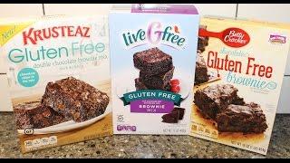 Gluten Free Brownies Blind Taste Test: Krusteaz, Aldi's liveGfree & Betty Crocker