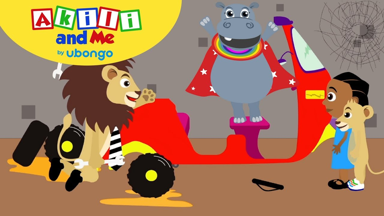 The Dance Song   Sing with Akili and Me   Cartoons for Preschoolers