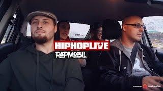 BamDighidiBam (Oliniutza , MCoco, MC Jena) in RapMobil HipHopLive